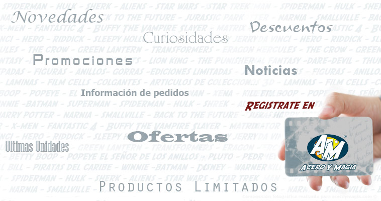 Registrate en Acero y Magia