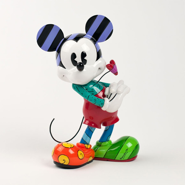 Figura de mickey mouse love realizada por romer britto 01 britto mickey mouse love figurine disneyg altavistaventures Image collections