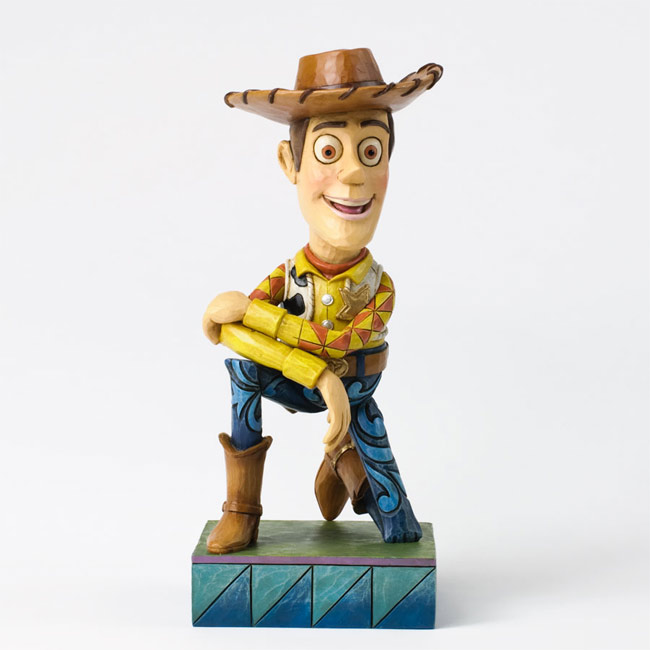 Figura Sheriff Woody de Toy Story realizada por el artista Jim Shore 03db62f7e31