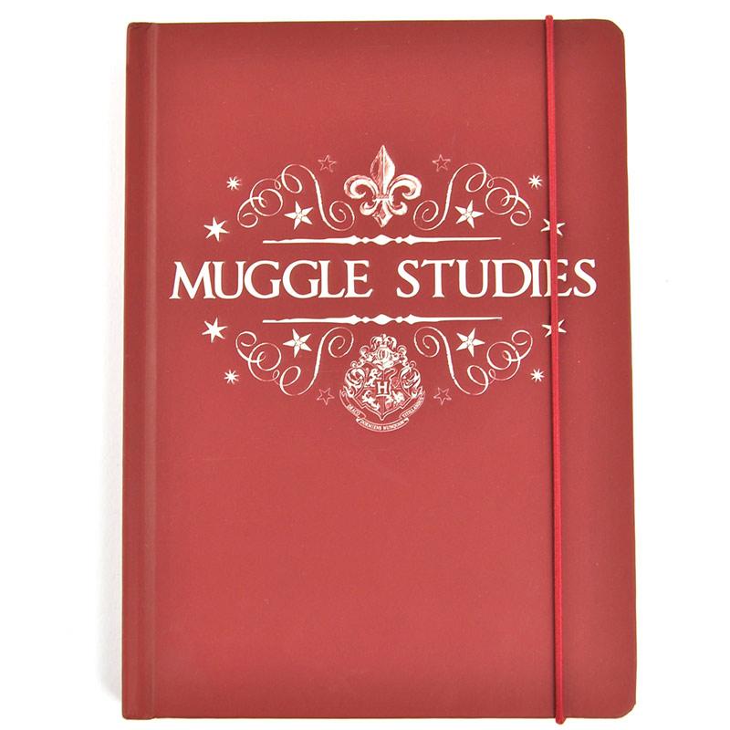 Libreta Muggle Studies Harry Potter A5
