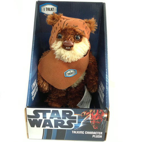 peluche ewok wicke w warrick de star wars. Black Bedroom Furniture Sets. Home Design Ideas