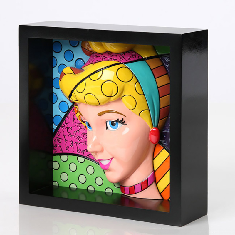 01 Pop Art Block Cenicienta Cuadro Britto