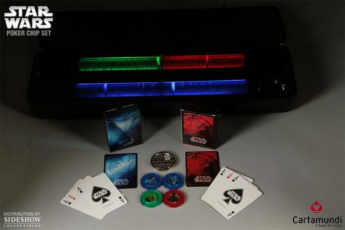 Star wars lighted poker chip set casinos roulette near me
