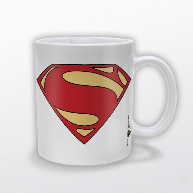 Acero Y Magia Taza Logo El Hombre De Acero Superman