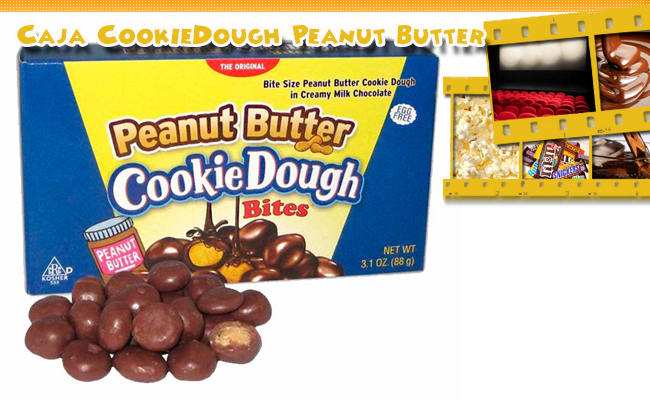 Pack 2  Cajas Peanut Butter Cookie Dough Bites